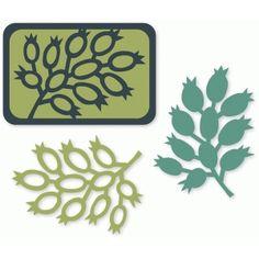 Silhouette Design Store - Search Designs : berry branches