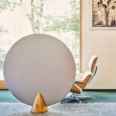 A piece of art. That's our winning Cone. Bring a touch of luxury and silence to your interior. Valentine Decorations, Egg Chair, Oeuvre D'art, Les Oeuvres, Interior Styling, Art Pieces, Bring It On, Homedesign, Touch