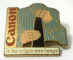 Pin Spilla Canon - Le Fax Soigne Mon Image