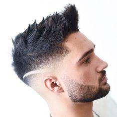 Spiky Undercut   Medium Hair