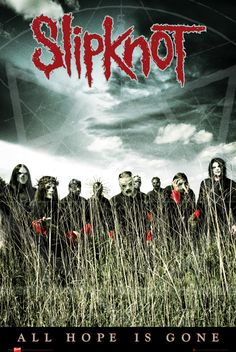 Slipknot All Hope - Official Poster. Official Merchandise. Size: 61cm x 91.5cm. FREE SHIPPING