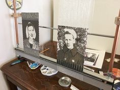 Anna Mae and Doc Savage - the story behind the beaded WWII Tapestry. Loom Beading, Beading Patterns, Upcycled Crafts, Easy Crafts, World Conflicts, Diy Bags Purses, Weaving Projects, Ceramic Beads, Diy Accessories
