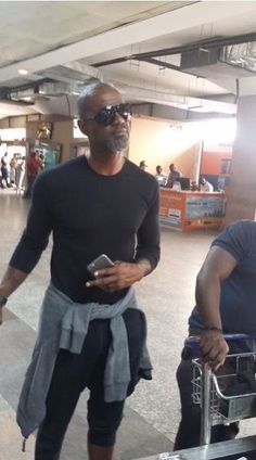 GOSSIP, GISTS, EVERYTHING UNLIMITED: Photos of Brian McKnight Arrival For Butterscotch ...