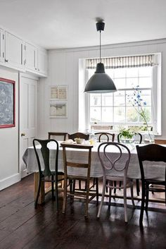 Chalkboard. Dining Room ChairsDining AreaMismatched ...
