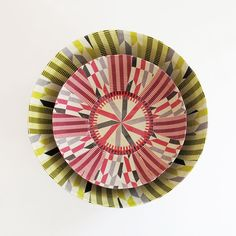 Paper maché bowl from South Africa via deepdarkafrica.bigcartel.com.