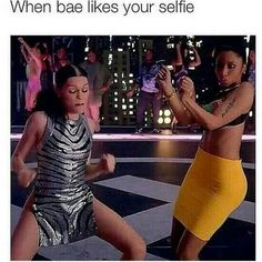 .lmfao. i be feeling all conceited and shit.
