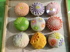 Japanese Treats, Japanese Food Art, Japanese Cake, Wagashi Recipe, Japanese Wagashi, Cute Desserts, Cute Food, Confectionery, Mochi