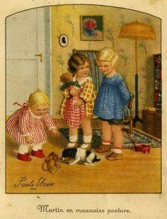 Illustrator Pauli Ebner (387 werken) with a doll