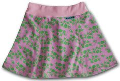 Pink frogs skirt for dancing girls 2-7 years old
