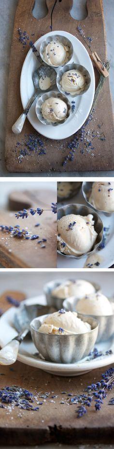 salted caramel & lavender ice cream | Margaret & Joy