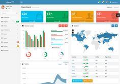 AdminLTE – A Clean Admin Theme - w3lessons.info