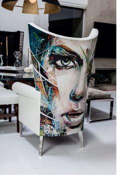 amazing art chair