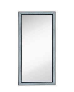 This newly featured contemporary mirror has a unique frame, in a black finish with cracked glass!