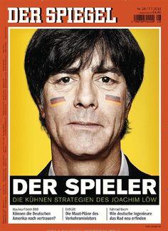 Die kühnen Strategien des Joachim Löw Gefunden in: Der Spiegel Nr. 28/2014