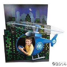 Agents of Truth 3D Stand-Up, Cardboard Cutouts, Party Decorations, Party Supplies - Oriental Trading At orientaltrading.com
