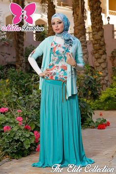maxi skirt hijab fashion  The Elite collection by Milla hijab store http://www.justtrendygirls.com/the-elite-collection-by-milla-hijab-store/