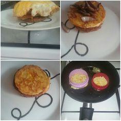 rosti hamburger taart let op gebruik hittebestendige vormen gebruiken voor rosti-ei
