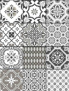 a6f07e7ed4 Tile Stickers Portugese 40pc 4x4in Peel and Stick for kit... https