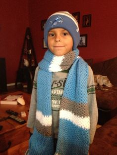 Detroit lion scarf