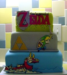 Zelda cake ❤