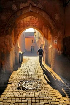 Beautiful #Morocco - passage avec voute #arabesque #orientale