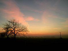 Sunset in Slovakia  #sunset #sundown #slovakia Instagram: adamkuvarga