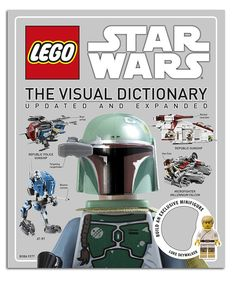 LEGO Star Wars Visual Dictionary Hardcover //