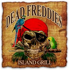 Ocean City Maryland Bay Front Dining and Nightlife | Dead Freddies Island Grill