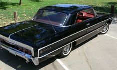 64 Impala Classic Car Garage, Classic Cars, Lifted Chevy Trucks, Chevrolet Impala, Vintage Pictures, Dream Cars, Antique Cars, Automobile, Impalas