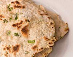 Vegan / APLV, sem ovo, sem leite e sem soja - Pão Rústico de Frigideira