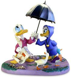 daisy donald duck | ... Disney Characters Walt Disney Figurines - Donald Duck & Daisy Duck
