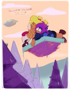 """new ok ko episode, """"you have to care"""" airs tonight at 6:30 pm on cartoon network! this ep means a lot to me! pls tune in! written/boarded by @dannyducker and me"""