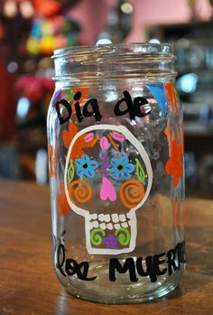 Artelexia: Day of the Dead DIY #19: DOD Mason Jars