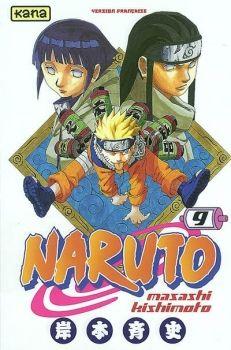 Couverture Naruto, tome 09