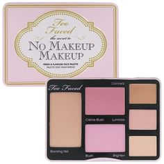 Sold out, limited edition.This multi-tasking face palette contains everything you need to achieve a flawless complexion.Includes Bronzing Veil, Creme Blush, Blush, and 3 correction creams to conceal,