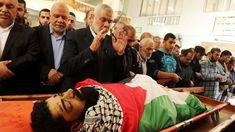 Filistinli engelli İbrahim Ebu Süreyya, İsrail teröristlerinin saldırısı sonucu şehid düştü.