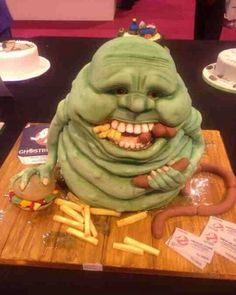 Cake. Ghostbusters not my photo saw it and had to share. An amazing piece of work, via Flickr.