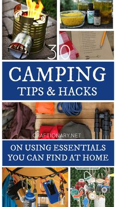 Camping Hacks, Camping Bedarf, Camping Guide, Camping Supplies, Camping Checklist, Camping Essentials, Family Camping, Camping Recipes, Camping Stuff