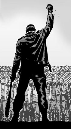 pauljesusmonroetwd:  Negan  The Walking Dead | Issue: 122