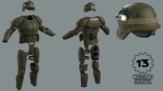 Combat Armor from Fallout 3 and New Vegas. Gonna attempt to make this armor for Comicon next year. Either this or Fallout 4's version of the armor, which might be more simplistic.