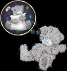 Tatty teddy droomt