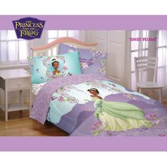 Princess Tiana Full Bed Comforter I Would Love To Have This For My New Little Girl