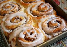 Cinnamon rolls were always one of those things that I shied away from trying, afraid I'd screw them up somehow. That, however, was befo...