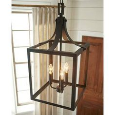 Buy the Sea Gull Lighting Black Direct. Shop for the Sea Gull Lighting Black Labette 3 Light Wide Cage Chandelier and save. Farmhouse Dining Room Lighting, Farmhouse Light Fixtures, Entryway Lighting, Kitchen Lighting, Island Lighting, 3 Light Pendant, Lantern Pendant, Pendant Lighting, Pendant Chandelier