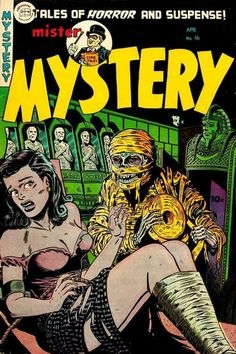 Mister Mystery Comic Book
