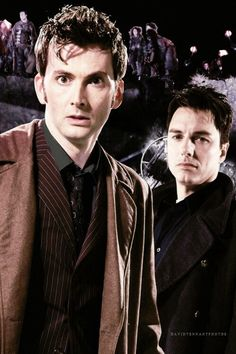 10th Doctor and Captain Jack.