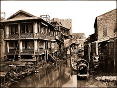 Canton, China [c1880] R.H. Brown [RESTORED] by ralphrepo, via Flickr