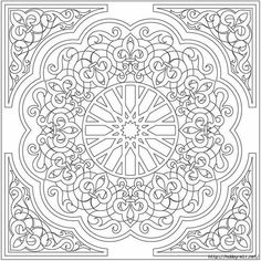 Alhambra coloring pages ~ Alhambra Stained Glass Coloring Book | glass | Pinterest ...