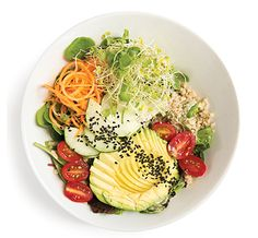 Sprout It Out Salad- Best Salads in Charlotte, NC. The Asbury
