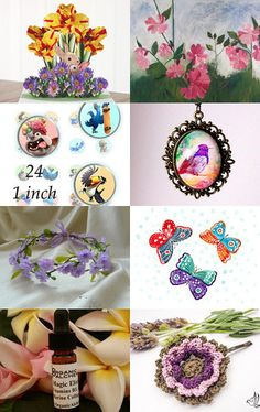 Ode to Spring! ~ Spring 2015~  by Kathy Carroll on Etsy--Pinned with TreasuryPin.com